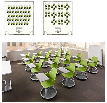 Af steelcase presenta el aula del futuro - Ruedas para mobiliario ...