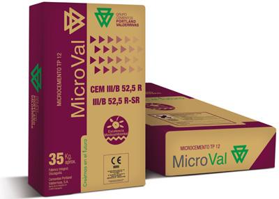 Microval nueva gama de microcementos del grupo cementos - Microcementos del norte ...