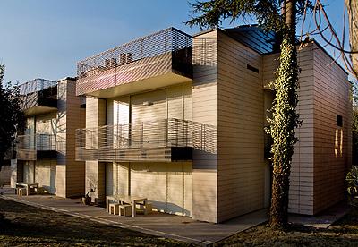 Cer mica en vertical fachadas - Materiales para fachadas de casas ...