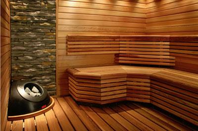 Saunas dur n presenta nuevos calefactores para saunas de - Construir una sauna ...
