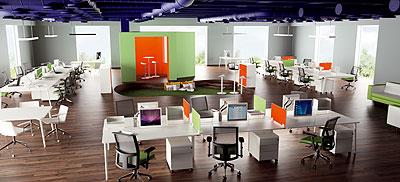 Ofita presenta un nuevo dise o para los nuevos espacios de for Oficinas compartidas