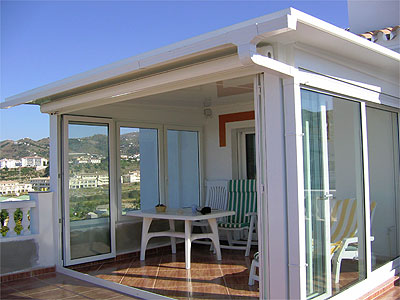 Cerramientos de terraza con sistemas k mmerling - Cubiertas de aluminio para terrazas ...