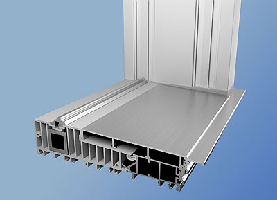 Vbh malum presenta la nueva solera para corredera elevable - Portal de corredera ...