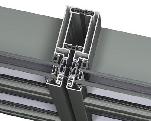 fachadas modulares sin juntas visibles de reynaers. Black Bedroom Furniture Sets. Home Design Ideas
