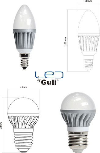 Guli Iluminación presenta sus nuevas lámparas LED: regulables y de 5 ...