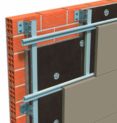 Nuevos paneles de lana mineral natural para el aislamiento - Materiales para fachada ...