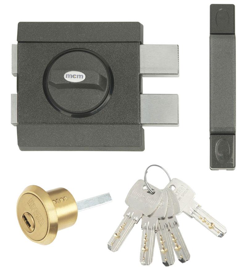 Nuevo cerrojo de seguridad con llave interior y - Cerrojos de seguridad para puertas ...