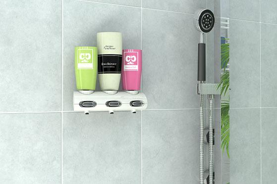 Tubotec el nuevo dosificador y dispensador mural para for Dispensador de jabon para ducha