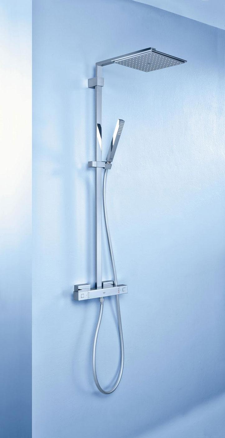 Termostatos grohtherm cube para un dise o de cuarto de for Griferia de ducha grohe