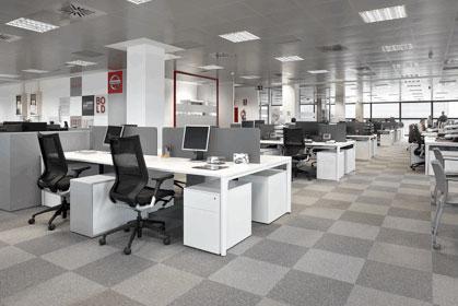 Ofita amuebla la nueva sede corporativa en espa a de Empresas de construccion en barcelona