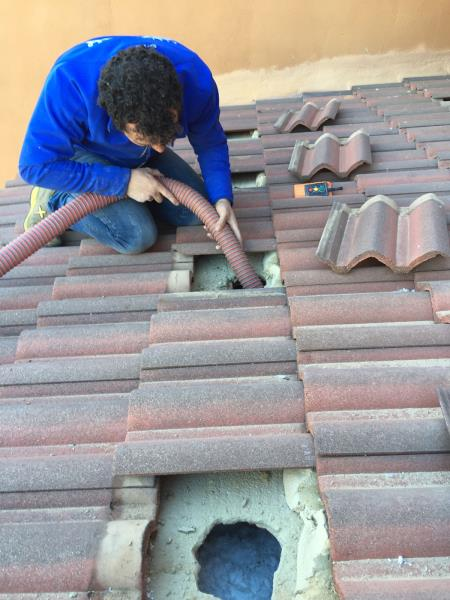 Casa residencial familiar aislar paredes y techos por - Aislar paredes termicamente ...