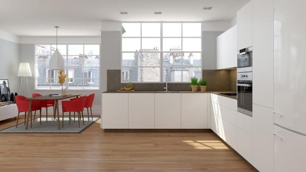 Finsa lanza Atempo, una colección de componentes para cocinas de gran
