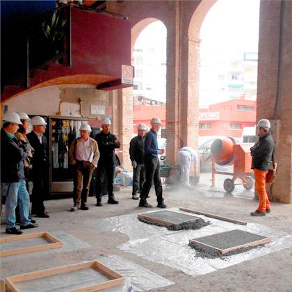 Fundaci n laboral de la construcci n organiza junto al - Materiales de construccion valencia ...
