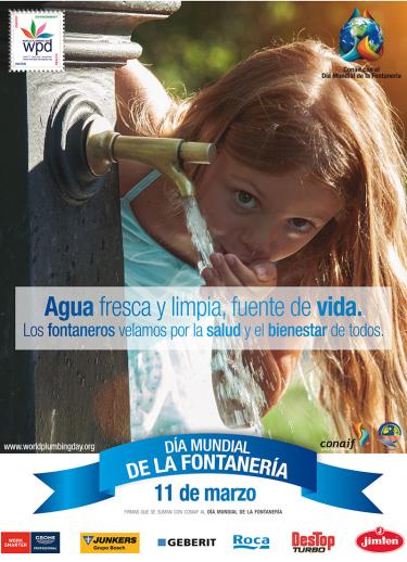 Geberit celebra el d a mundial de la fontaner a for La proveedora de fontaneria