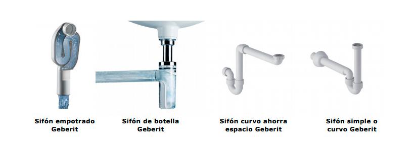 Un ba o siempre fresco con los sifones de lavabo geberit - Sifones para lavabos ...