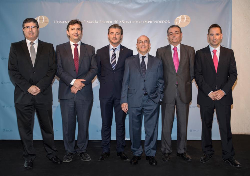 Homenaje a jos mar a ferrer en su 50 aniversario como for Eurobrico arco