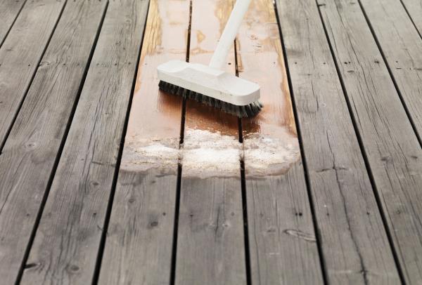 Reviviendo los suelos de madera con bona powerscrubber - Tratamiento para madera exterior ...
