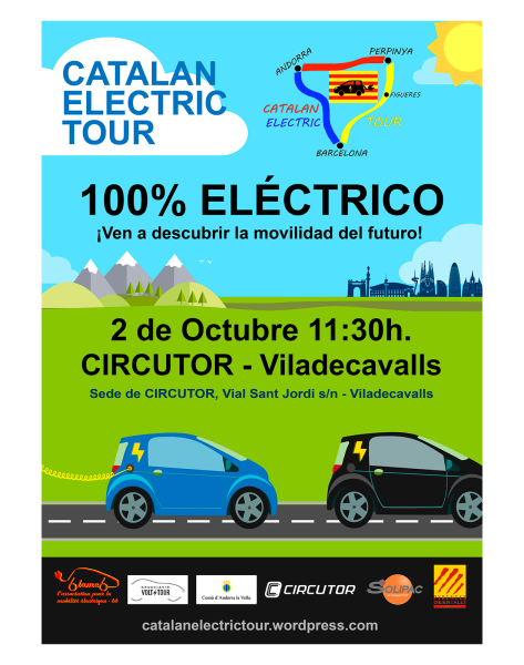 Catalan Electric Tour. Ven a descubrir la movilidad del futuro