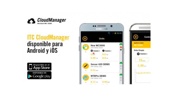 ITC CloudManager disponible para iOS y Android