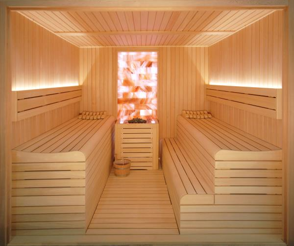 Haloterapia en la sauna de inbeca wellness equipment - Productos para sauna ...