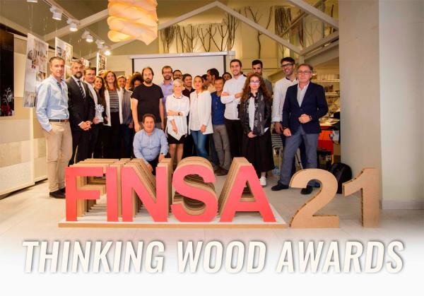 Vídeo de la entrega de premios Thinking Wood Awards de Finsa