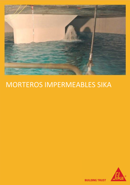 Morteros impermeables SIKA