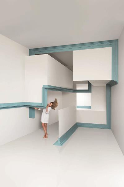 Dise o innovador y funcionalidad con las cornisas decorativas steps de orac decor - Cornisa para led ...