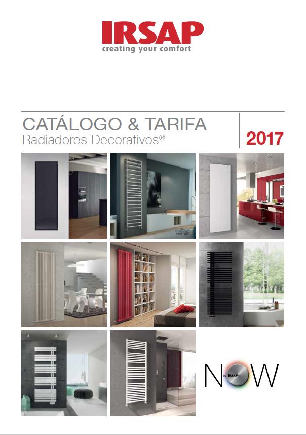 Descubre el cat logo tarifa 2017 de irsap - Radiadores electricos decorativos ...