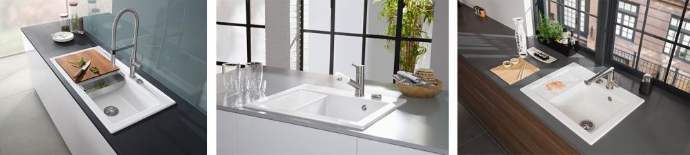 el lavabo en el lado izquierdo o derecho por lo tanto son tambin perfectos para los zurdos y para adaptarse al espacio de cada cocina