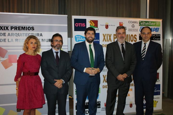 Grupo puma patrocina la xix edici n de los premios de - Arquitectos en murcia ...
