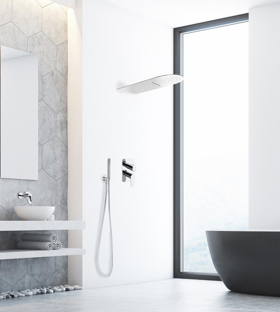 La ducha m s apetecible del ba o con los rociadores de for Porque gotea la regadera del bano