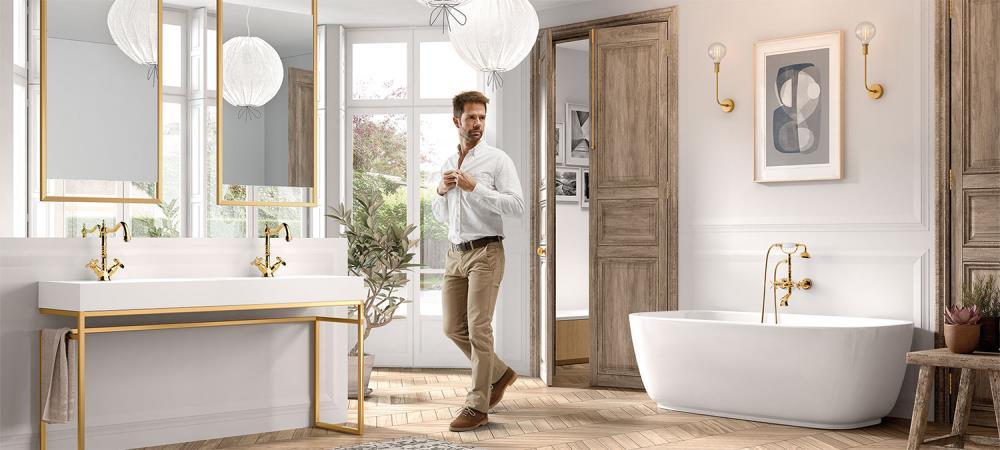Tres-Clasic, estilo elegante y romántico en tu cuarto de ...