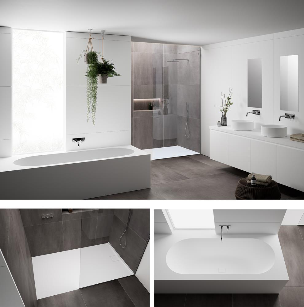 Nueva colección de bañeras y platos de ducha realizadas en ...